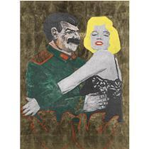 Leonid_sokov_marilyn_and_stalin